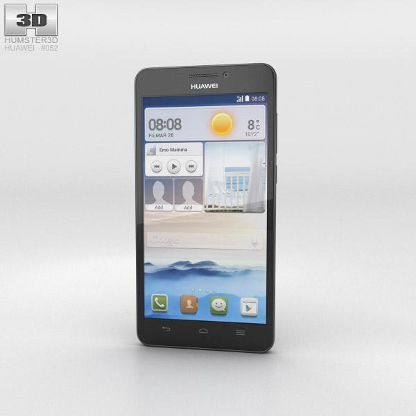 Huawei Ascend G630 Black 3d model