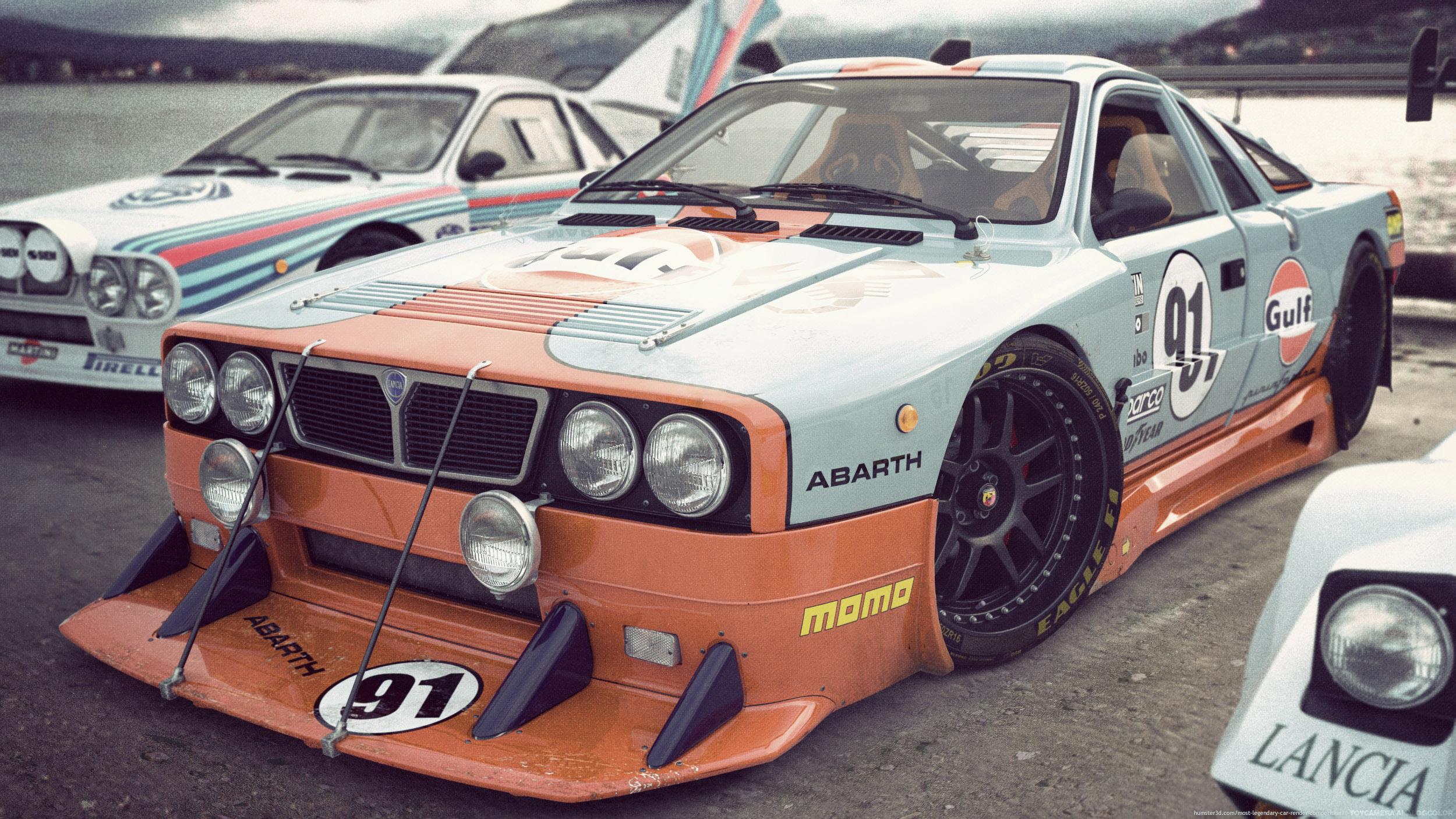 Lancia meeting 3d art