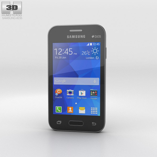 Samsung Galaxy Young 2 Iris Charcoal 3d model