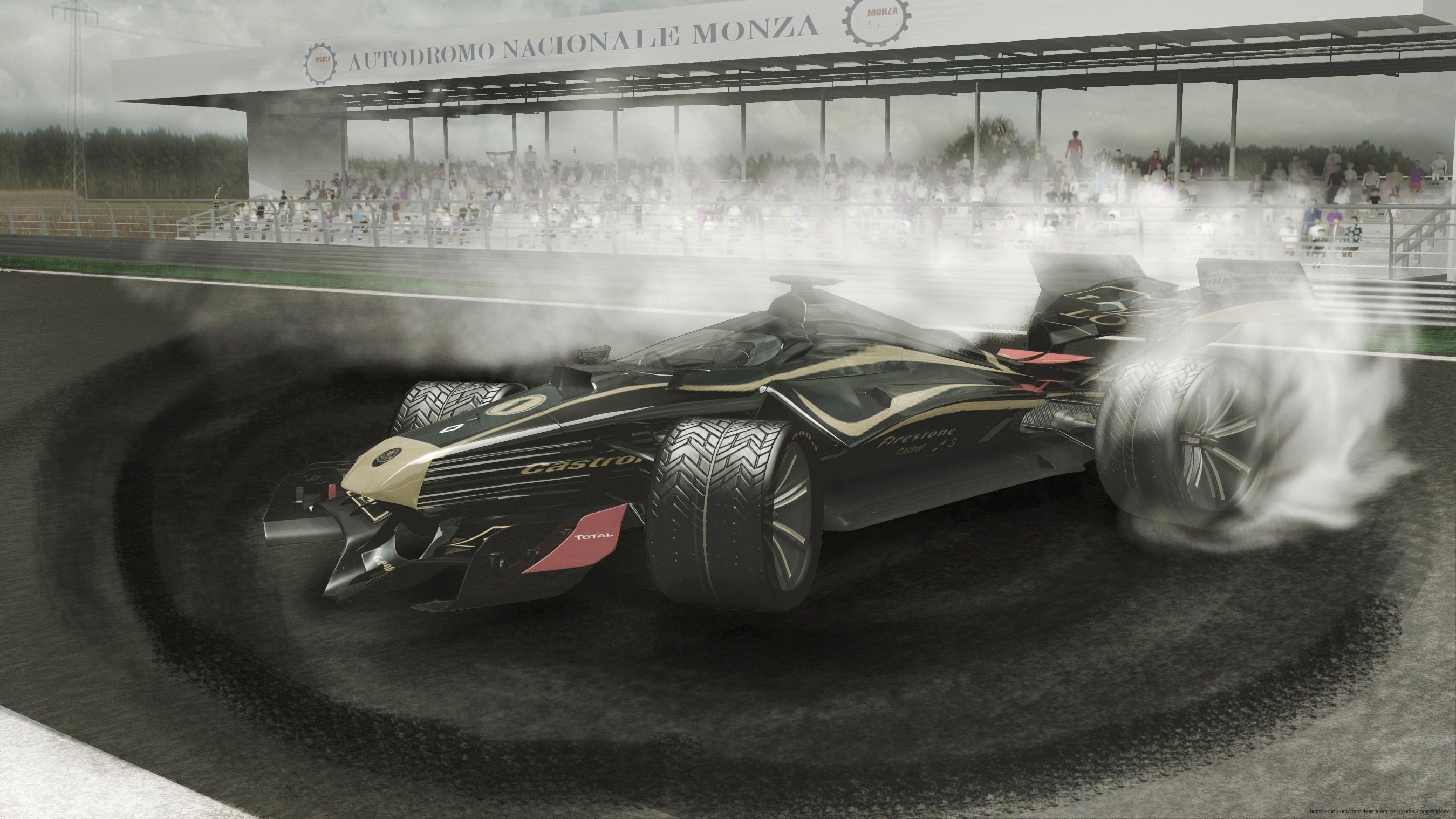 Lotus x17 3d art