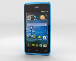 3D model of Acer Liquid Z200 Sky Blue