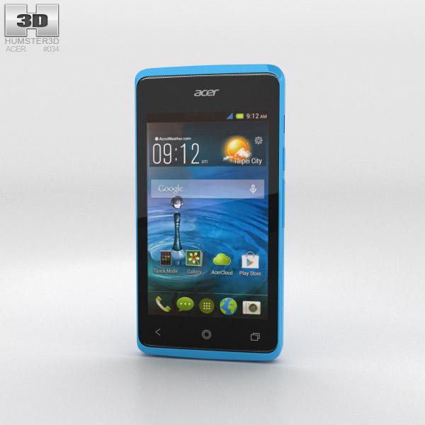 Acer Liquid Z200 Sky Blue 3D model