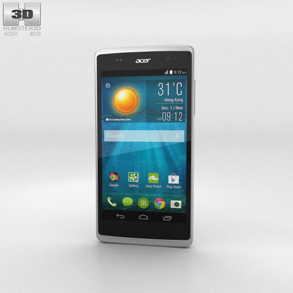 Acer Liquid Z500 Sandy Silver 3D model