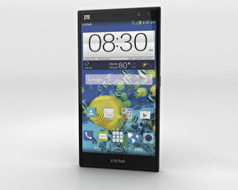 3D model of ZTE Grand Xmax Black