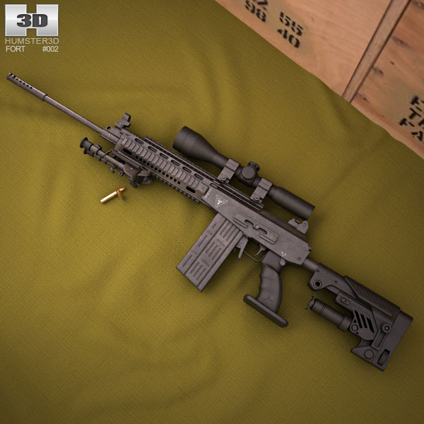 3D model of Fort-301