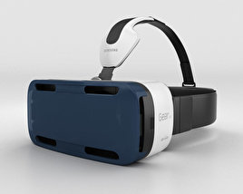 3D model of Samsung Gear VR