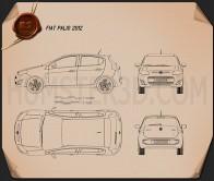 Fiat Palio 2012 Blueprint
