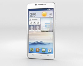 3D model of Huawei Ascend G630 White