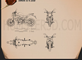Yamaha XJ6 2009 Blueprint