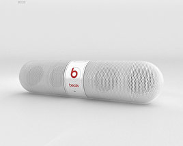 3D model of Beats Pill 2.0 Wireless Speaker White