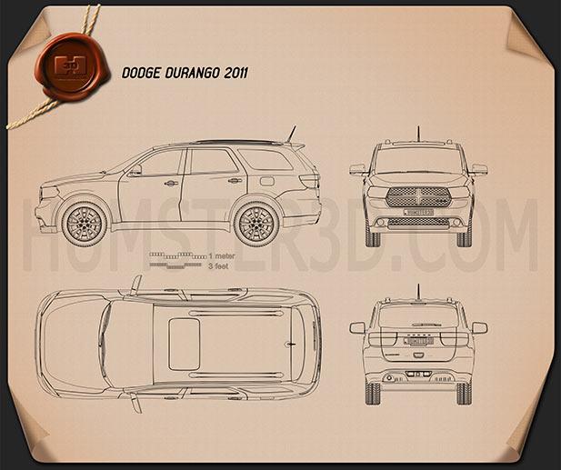 Dodge Durango 2011 Blueprint