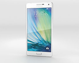 3D model of Samsung Galaxy A7 Pearl White