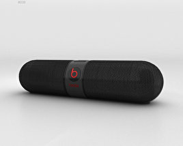3D model of Beats Pill 2.0 Wireless Speaker Black