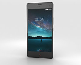 3D model of ZTE Nubia Z7 Mini Black