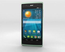 3D model of Acer Liquid Z500 Aquamarine Green