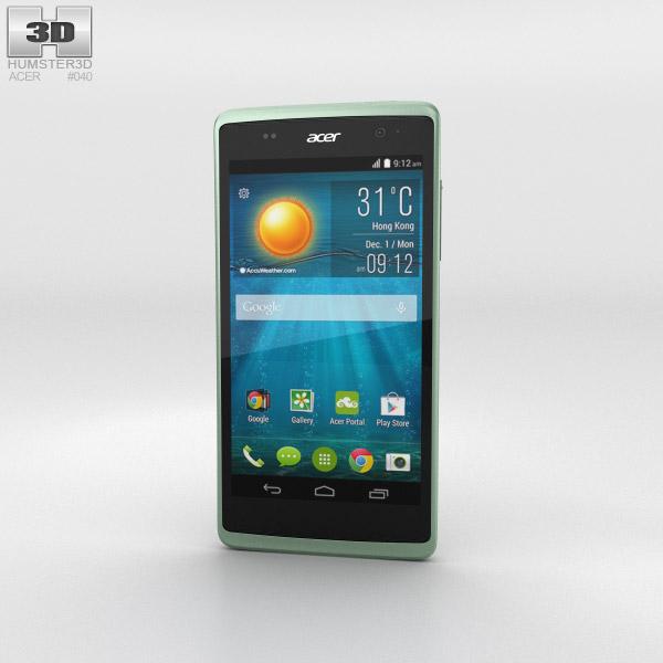 Acer Liquid Z500 Aquamarine Green 3D model