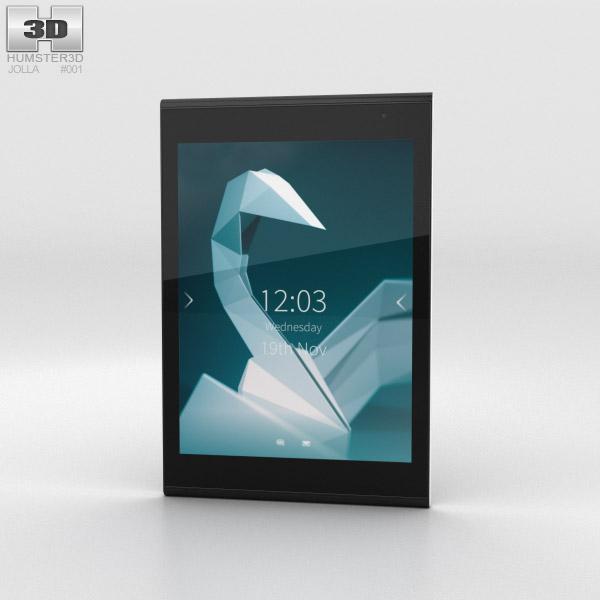 3D model of Jolla Tablet