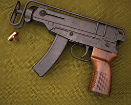 3D model of Skorpion vz. 61