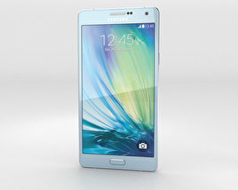 3D model of Samsung Galaxy A7 Light Blue
