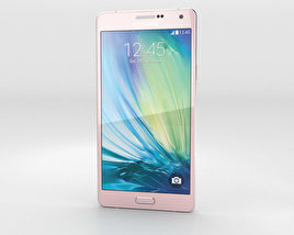 3D model of Samsung Galaxy A7 Soft Pink