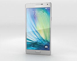 3D model of Samsung Galaxy A7 Platinum Silver