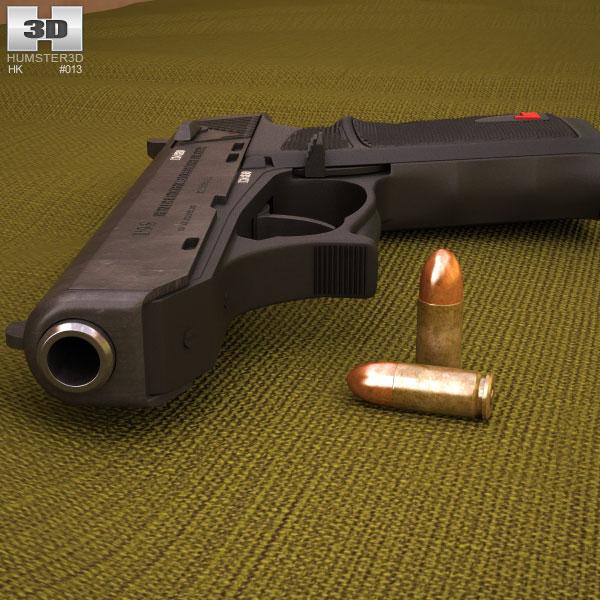 Heckler & Koch P9s 3d model