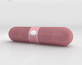 3D model of Beats Pill 2.0 Wireless Speaker Nicki Pink