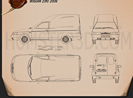 Bogdan 2310 2009 Blueprint