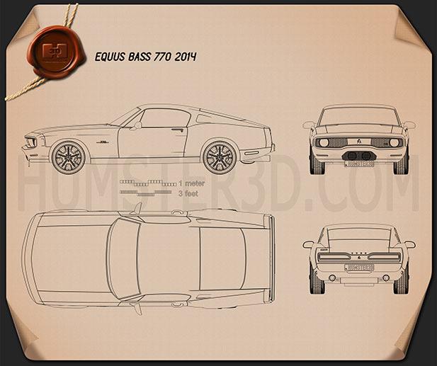 Equus Bass 770 2014 Blueprint