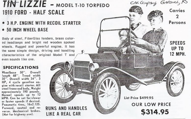 Toy Ford T for little drivers
