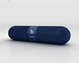 3D model of Beats Pill 2.0 Wireless Speaker Blue