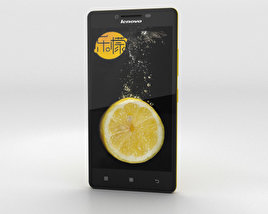 3D model of Lenovo K3 Yellow