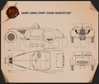 Squire Corsica Roadster 1936 Blueprint