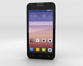 3D model of Huawei Ascend Y550 Black