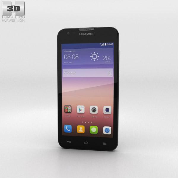 Huawei Ascend Y550 Black 3D model