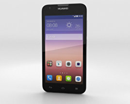 3D model of Huawei Ascend Y550 White