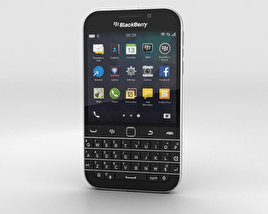 3D model of BlackBerry Classic Black