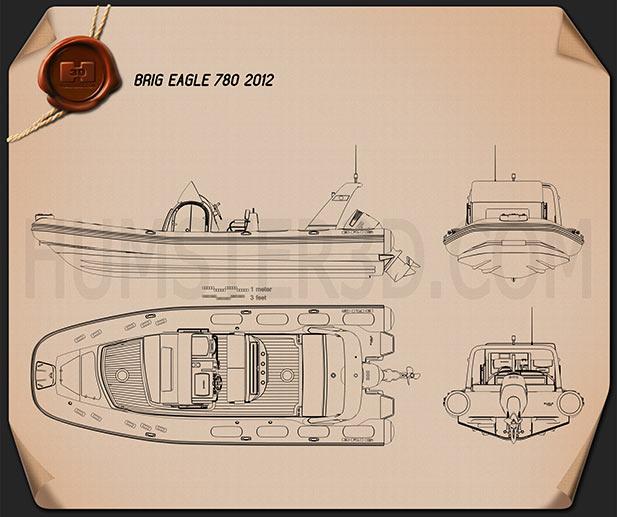 Brig Eagle 780 2013 Blueprint