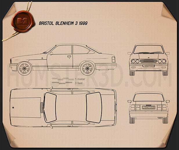 Bristol Blenheim 3 1999 Blueprint