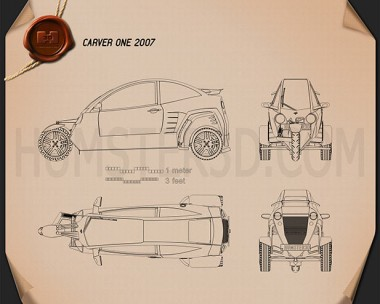 Carver One 2007 Blueprint