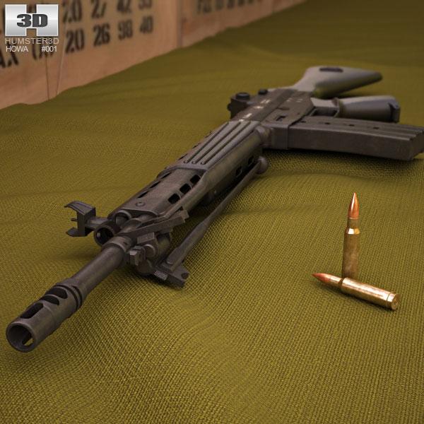 Howa Type 89 3d model