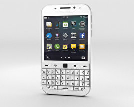 3D model of BlackBerry Classic White