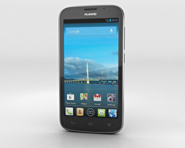 3D model of Huawei Ascend Y600 Black