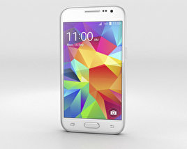 3D model of Samsung Galaxy Core Prime White