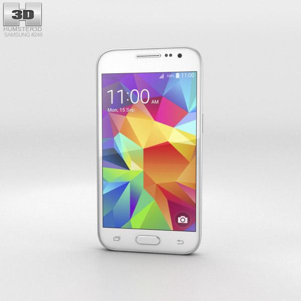 Samsung Galaxy Core Prime White 3D model