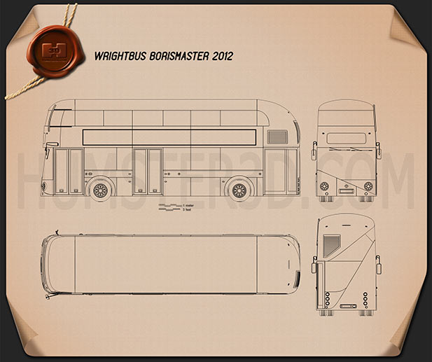 Wrightbus Borismaster 2012 Blueprint