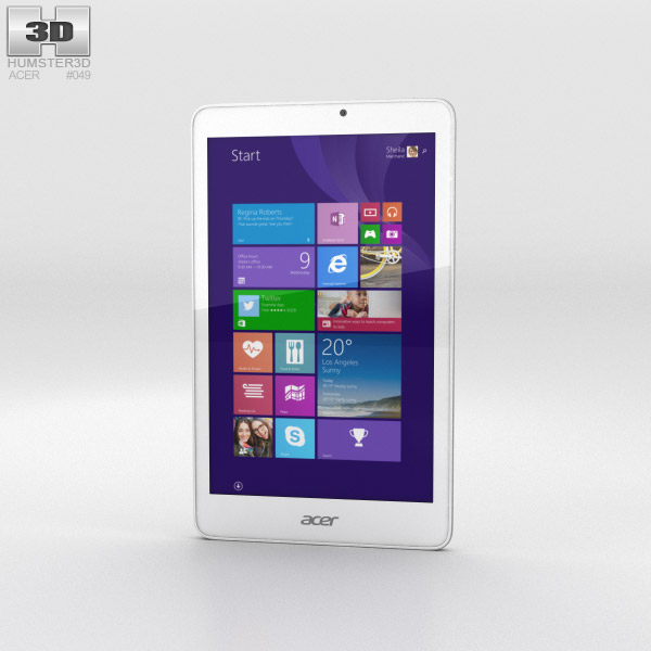 Acer Iconia Tab 8 W 3D model