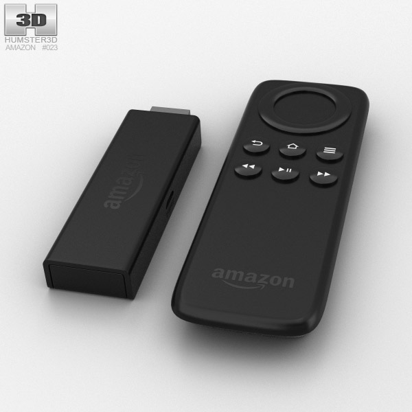 3D model of Amazon Fire TV Stick