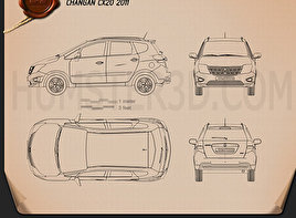 Changan CX20 2011 Blueprint