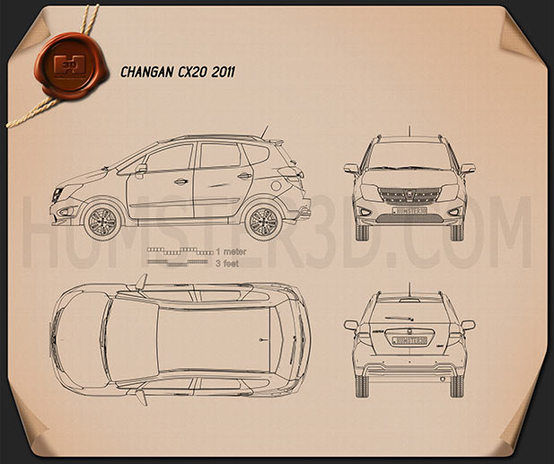 Changan CX20 2011 Blueprint